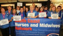 South Coast Nurses Bahrain Support 9_8_13