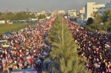 Massive protests marked the 3rd anniversary of the 2011 uprising