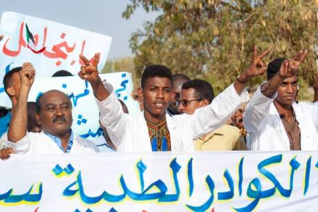 Sudanese doctors at the heart of the revolution